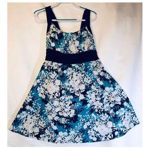 Summer sun floral pinup dress